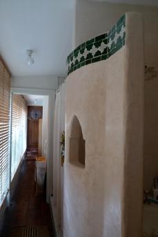realizzazione di parete in tadelakt