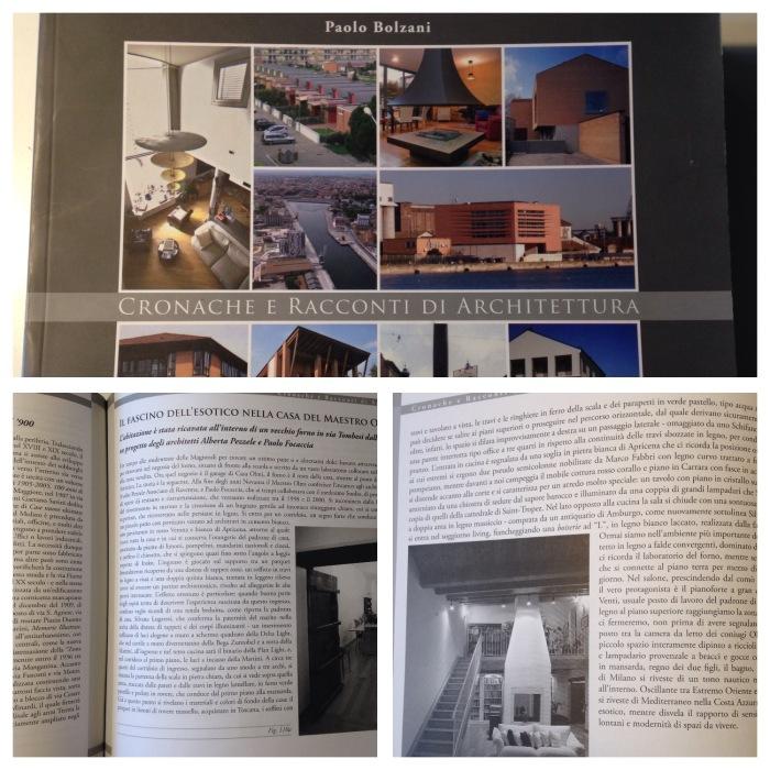 menzione su Cronache e Racconti di Architettura di P. Bolzani